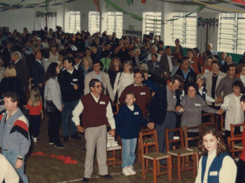 1997.10.05 – 1º Encontro da Família Dienstmann – 170 anos no Brasil – Dois Irmãos.1