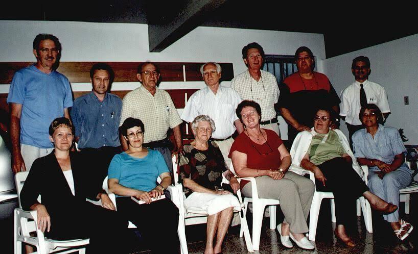 II Encontro Reunião comissão organizadora casa Roberto
